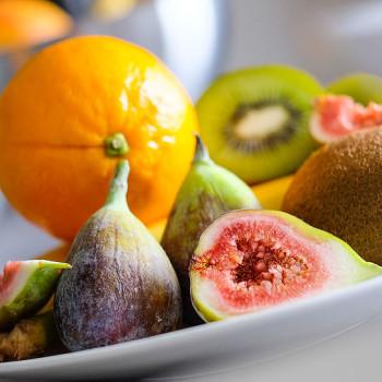 Čokoládové fondue s ovocem