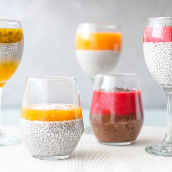 Chia pudink