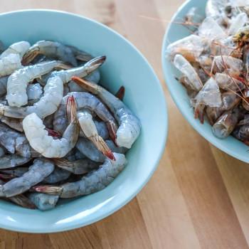 Jak oloupat a očistit krevety