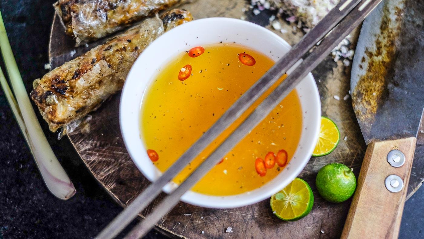 Základní vietnamská omáčka Nuoc Cham