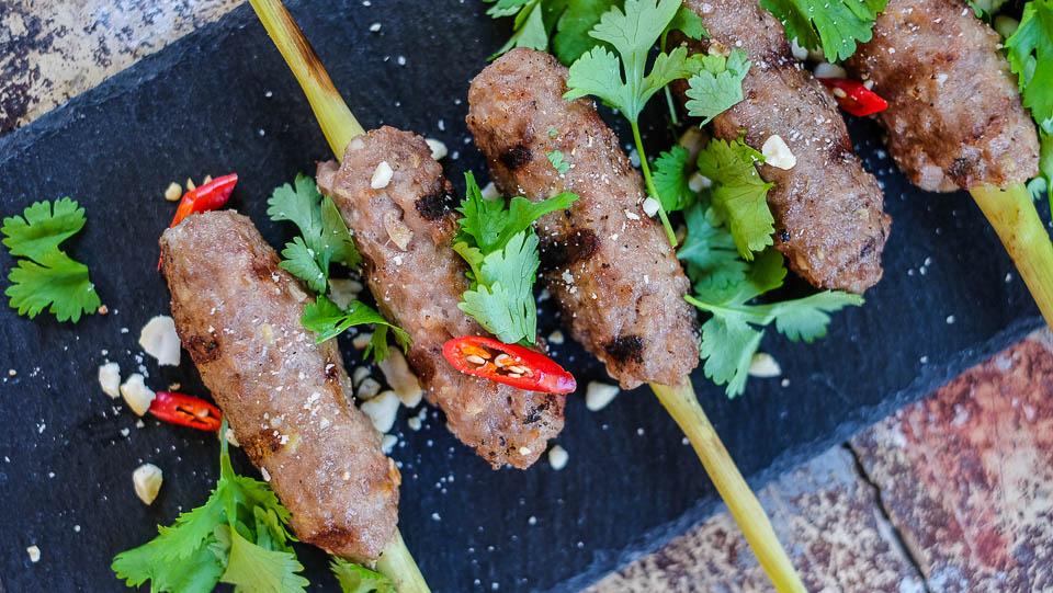 Špízy Nem lui Kurz vaření Vietnamské kuchyně - Tradiční vietnamská kuchyně