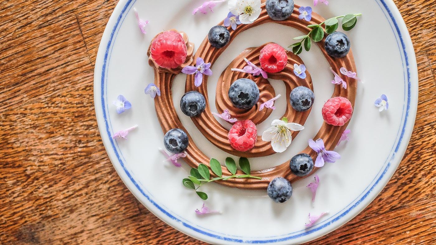 """Avokádovo-banánová raw """"čokoládová pěna – Mousse au chocolat"""""""