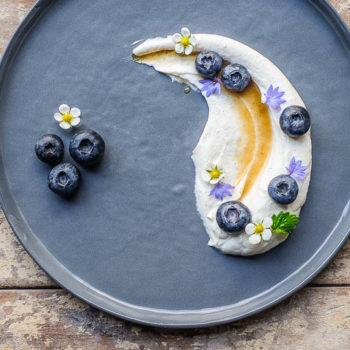 Domácí pribináček bez cukru s ovocem