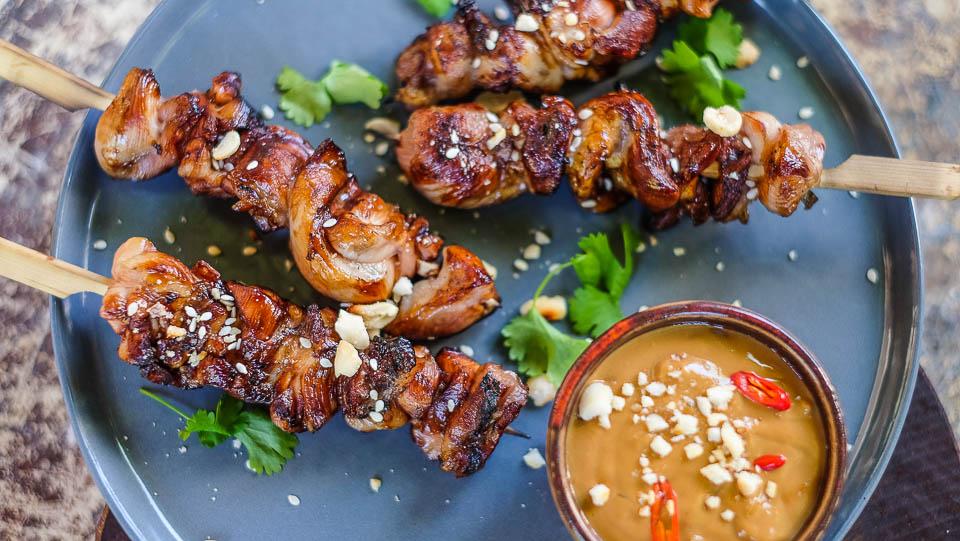 Kuřecí satay Kurz vaření Vietnamské kuchyně - Vietnamský street food