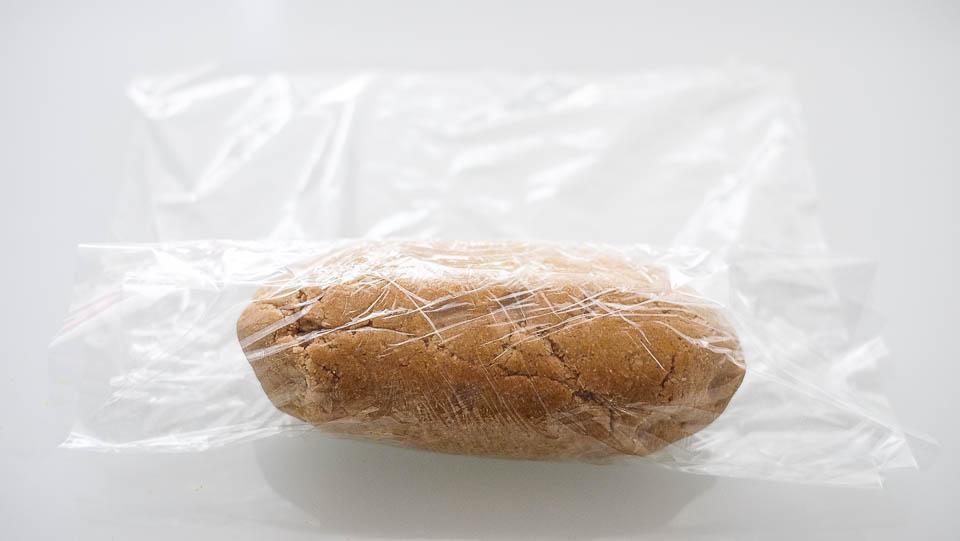 Mandlové linecké cukroví - Vločky