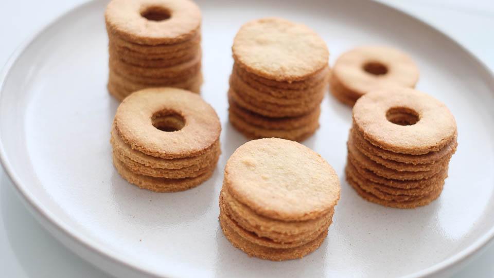 Mandlové linecké cukroví