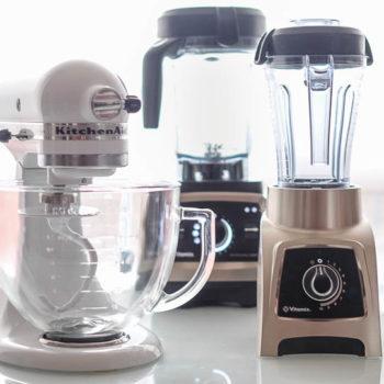 Mixér Vitamix, odšťavňovač Kuvings, robot KitchenAid