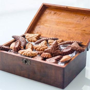 Ořechové pracny s kakaem i bez