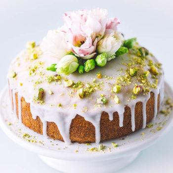 Izraelský pistáciový dort