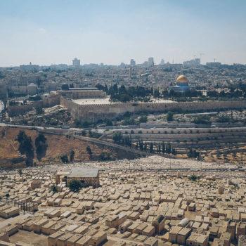 Jerusalem - Hora Olivetská