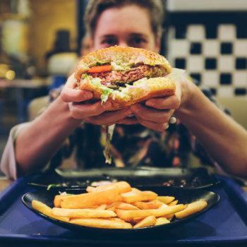 Jerusalém - nejlepší jehněčí burger v Iwo's meat and burger