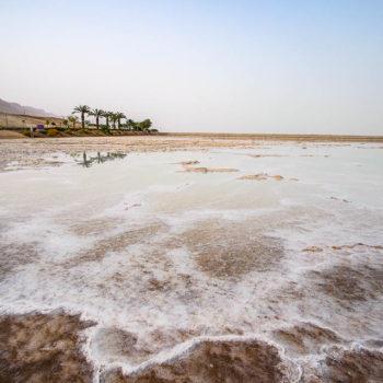Mrtvé moře - saliny