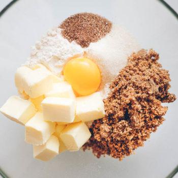 Těsto na vanilkové rohlíčky