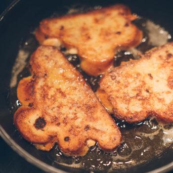 French-vanočka-toast - French toast