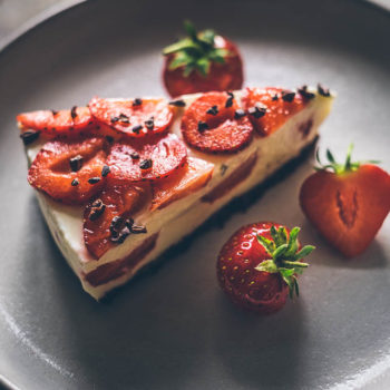 Smetanový jahodový (rychlo) dort