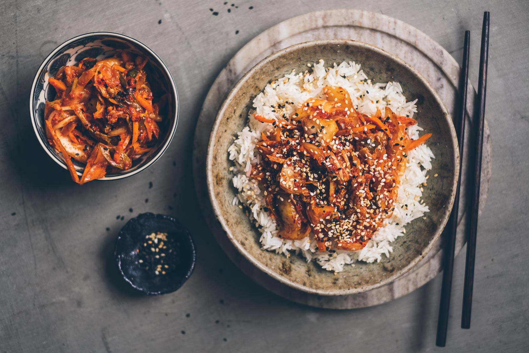 "Kimči – fermentovaná zelenina ""kimchi"""