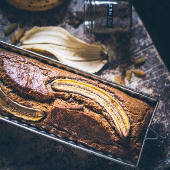 Banánový chlebíček bez cukru