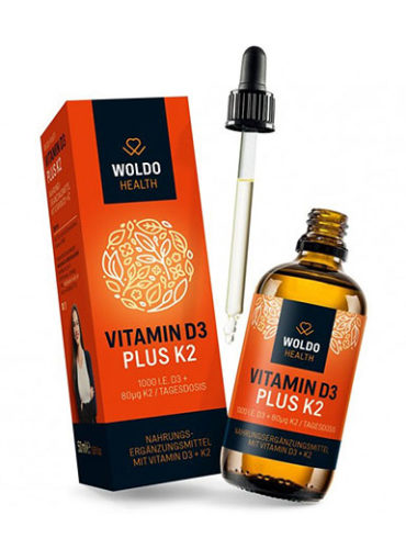 Woldo Health  Vitamin D3 plus K2
