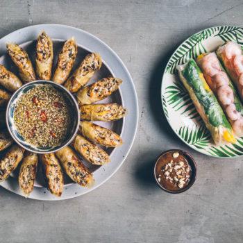 Online kurz vaření #2: Nem ran aNem cuon (smažené anesmažené závitky)