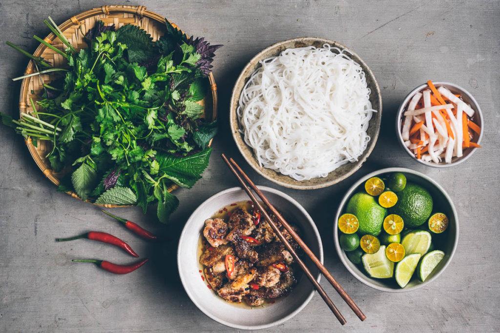 Online kurz vaření #8: grilované vepřové Bun cha